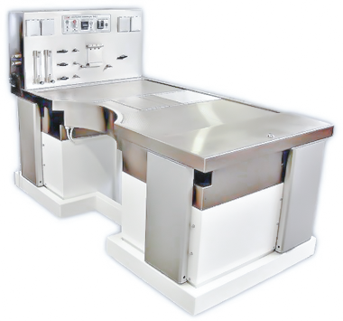 ventilated-table-adjustable-down-draft-table